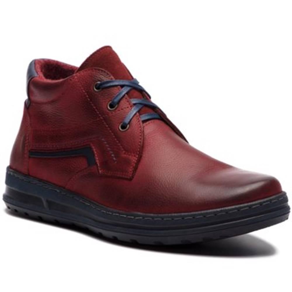 Lasocki for men Šnurovacia obuv  292 nubuk,koža(useň) lícová