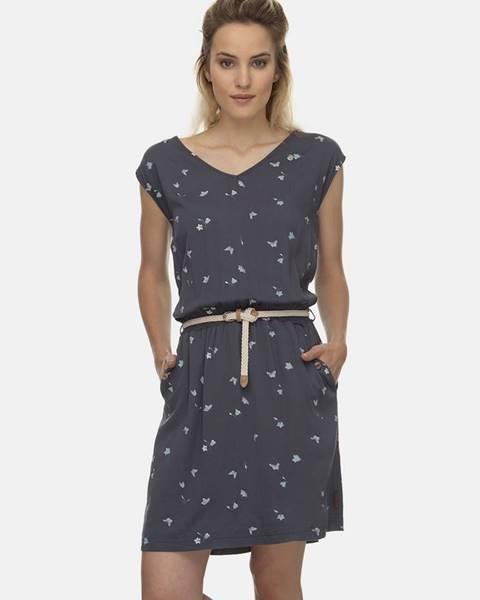Sivé šaty Ragwear