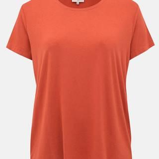 Tehlové basic tričko ONLY CARMAKOMA Carmakoma