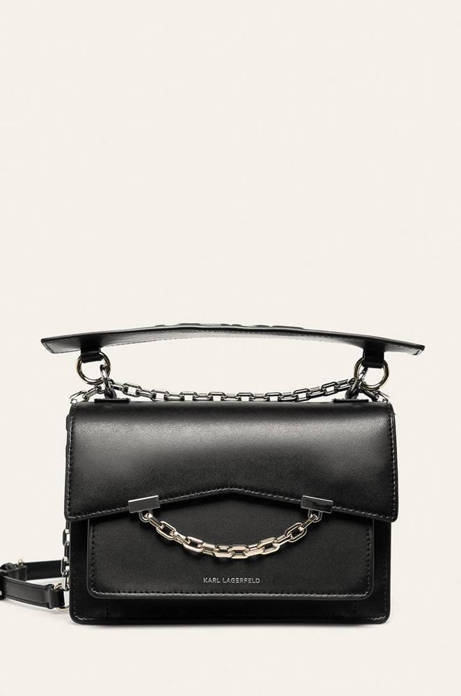 Karl Lagerfeld Karl Lagerfeld - Kožená kabelka