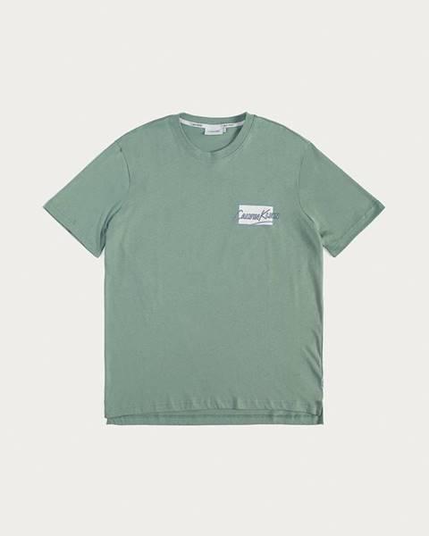 Zelené tričko Calvin Klein