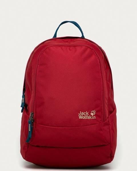 Burgundský batoh Jack Wolfskin