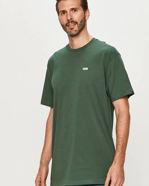Zelené tričko Vans