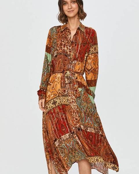 Viacfarebné šaty Desigual