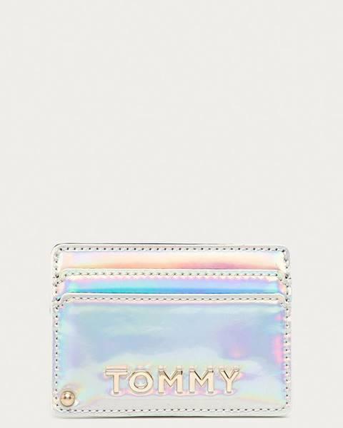 Strieborná peňaženka Tommy Hilfiger