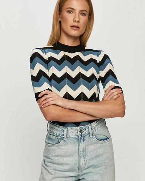 Fialové tričko Jacqueline de Yong