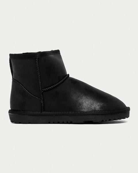 Čierne zimná obuv Answear Lab