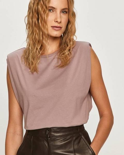 Fialové tričko Vero Moda