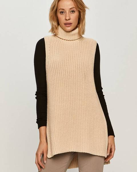 Béžový sveter Stefanel