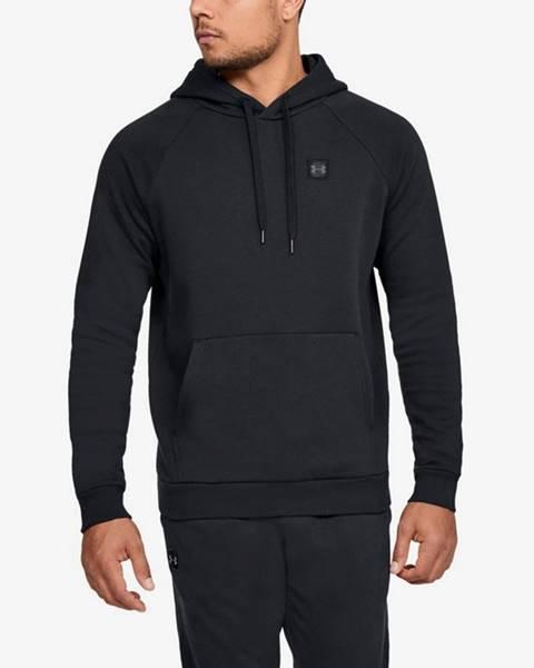 Čierna bunda s kapucňou Under Armour