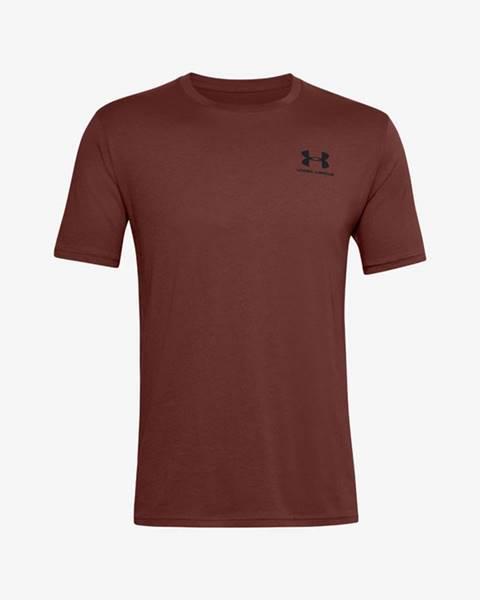 Hnedé tričko Under Armour