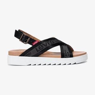 Persia Webb Sandále Čierna