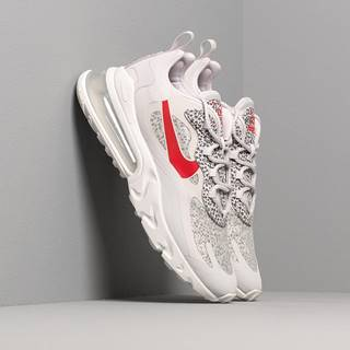 Air Max 270 React Neutral Grey/ University Red