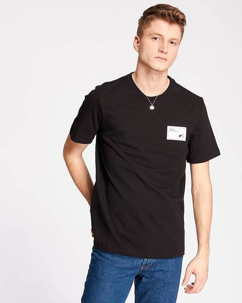 Čierne tričko A.P.C.
