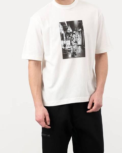 Biele tričko Y-3