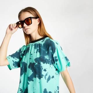 Alexander ueen Fluid Tee Dress Green