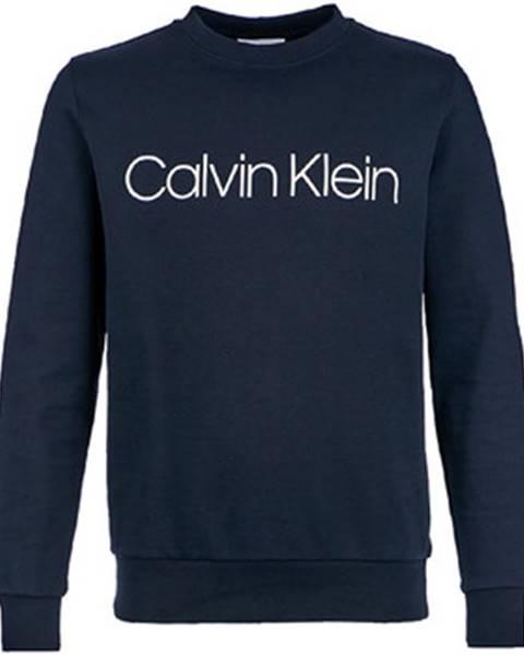 Modrá mikina Calvin Klein Jeans