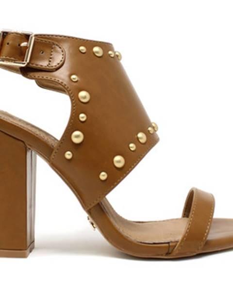 Hnedé sandále Gold gold