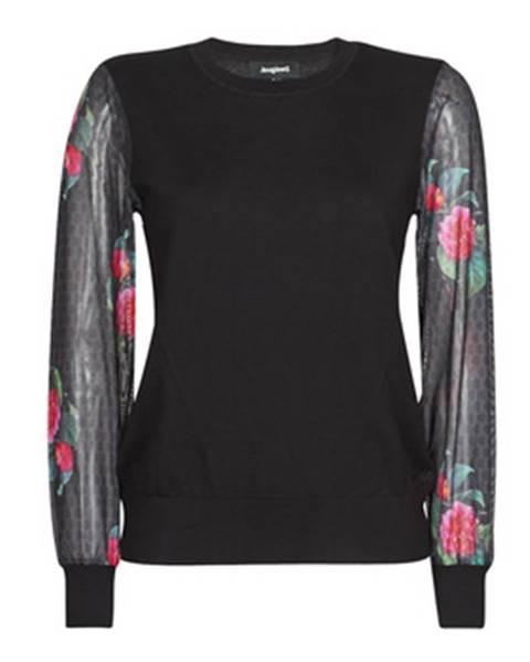 Čierny sveter Desigual