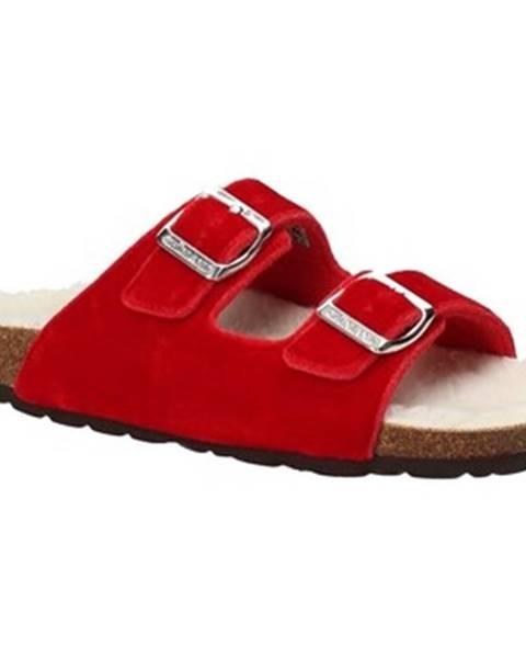 Červené sandále Grunland