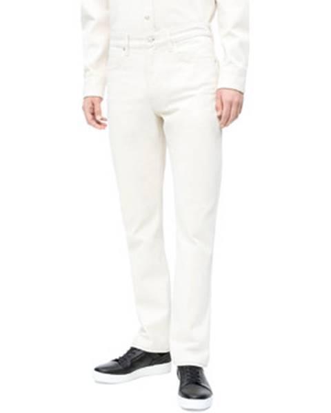 Biele rifle Calvin Klein Jeans