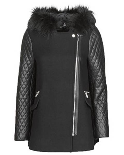 Čierny kabát Morgan