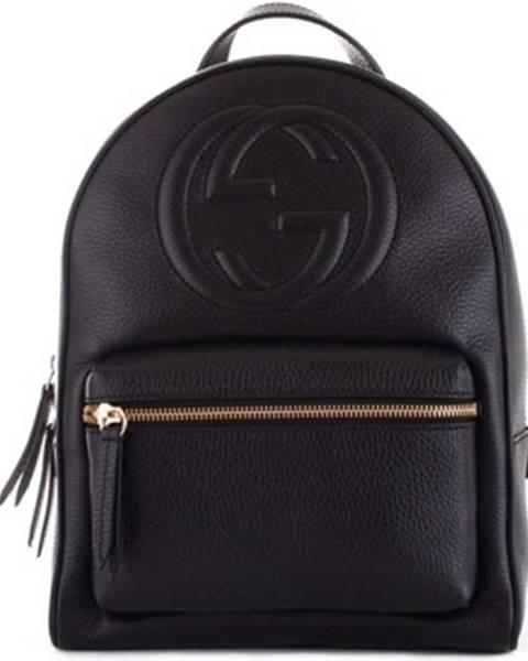 Čierny batoh Gucci