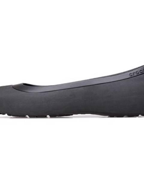 Čierne balerínky Crocs