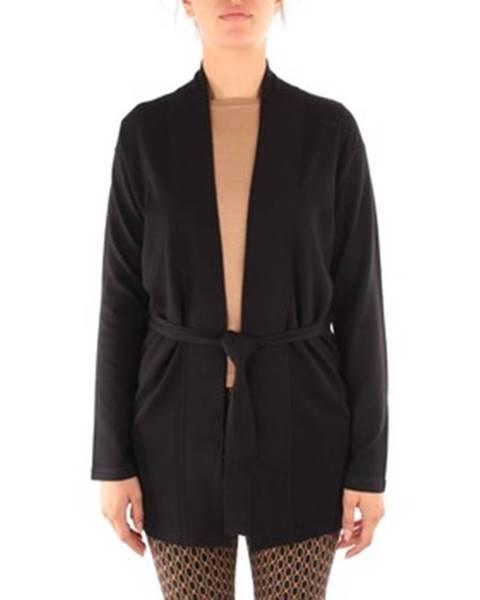 Čierna bunda Emme Marella