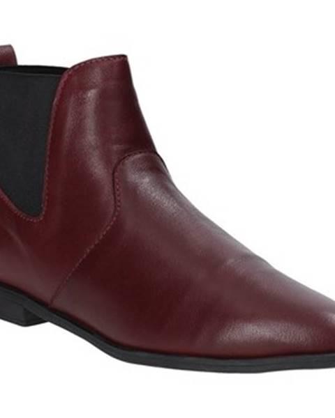 Bordové topánky Bueno Shoes