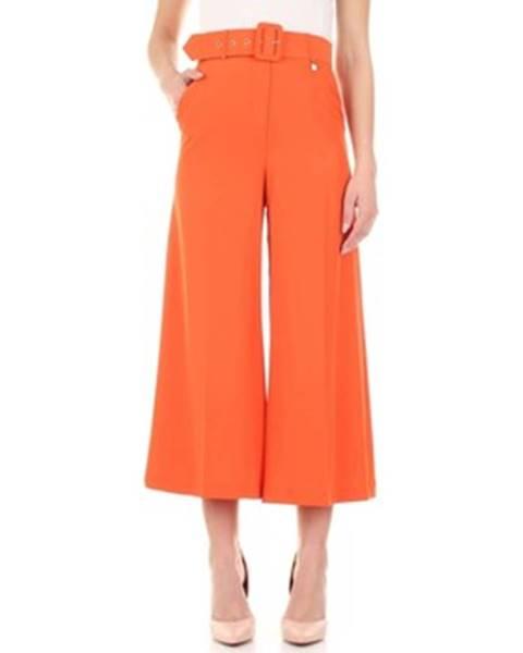 Oranžové nohavice Fly Girl