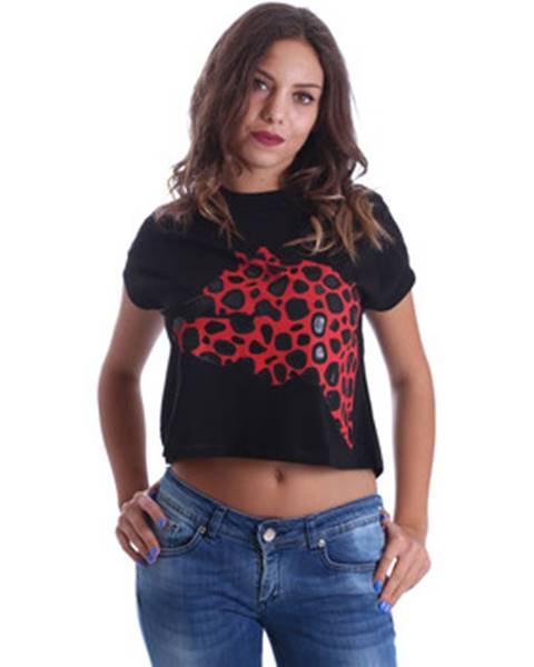Čierne tričko Fornarina