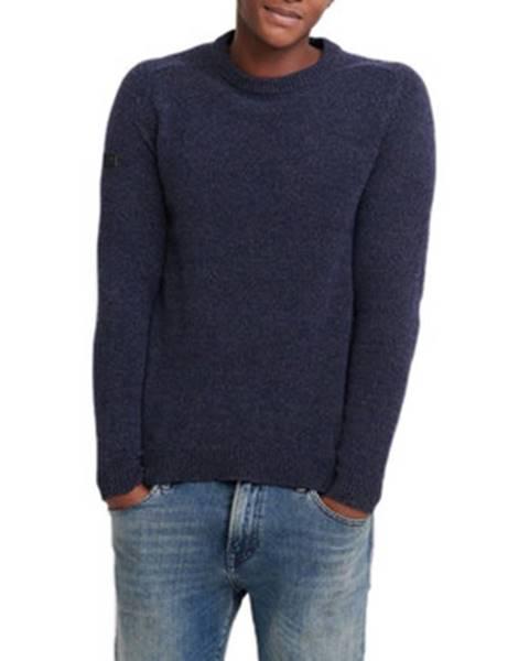 Modrý sveter Superdry