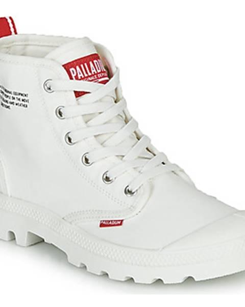 Biele topánky Palladium