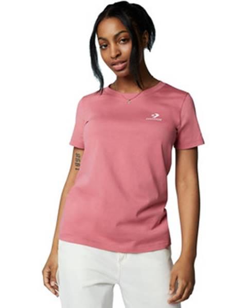 Ružové tričko Converse