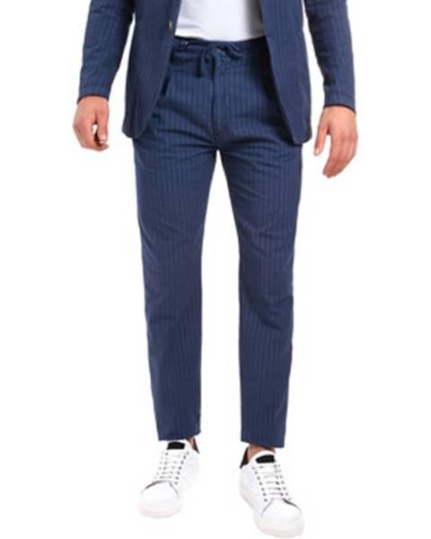 Modrý oblek Barbolini Milano