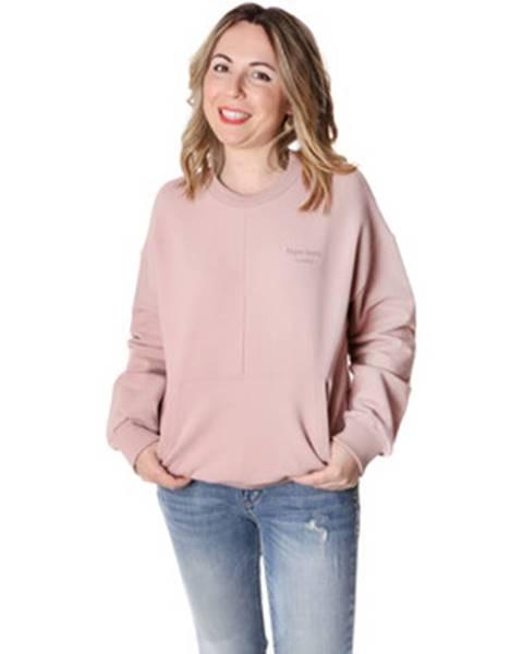Ružová mikina Pepe jeans