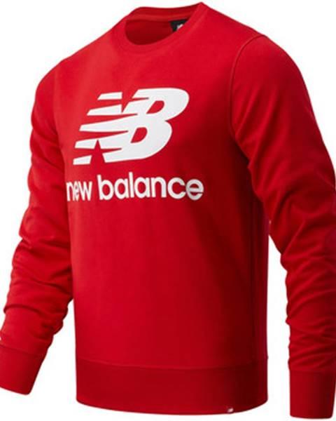 Červená mikina New Balance