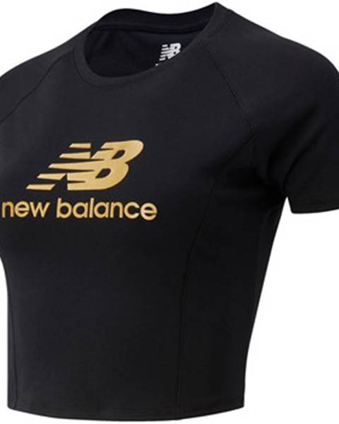 Čierne tričko New Balance