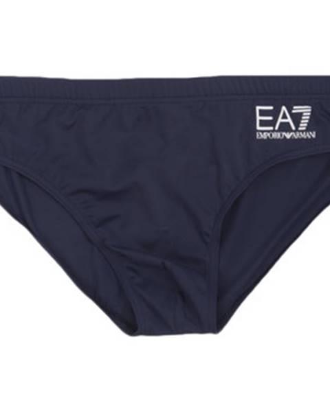 Modré plavky Emporio Armani EA7