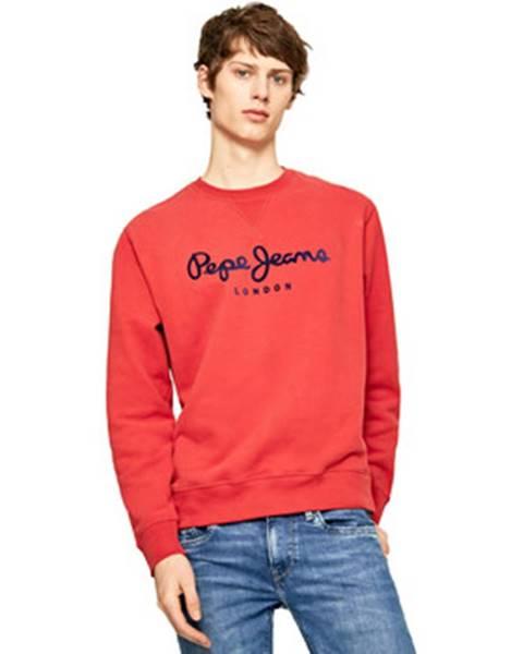 Červená mikina Pepe jeans