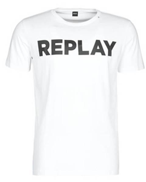 Biele tričko Replay