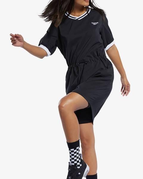 Čierne šaty Reebok Classic