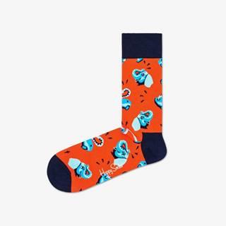 Clean Elephant Ponožky  Červená