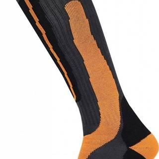Husky  Snow-ski oranžová, XL(45-48) Podkolienky