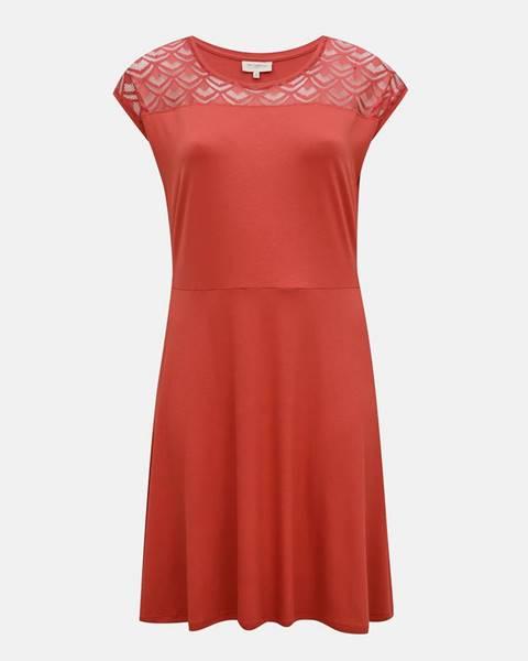 Ružové šaty ONLY CARMAKOMA