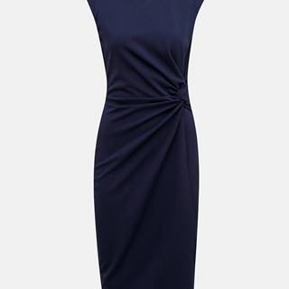 Tmavomodré púzdrové šaty ZOOT Lauren