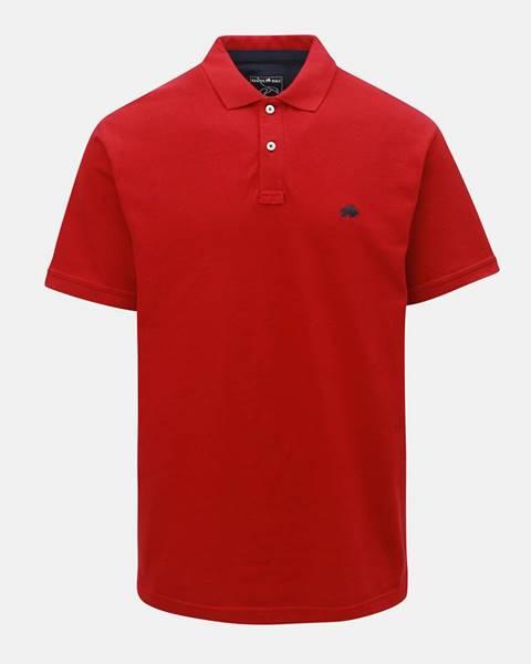 Červená košeľa Raging Bull