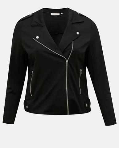 Čierna bunda ONLY CARMAKOMA