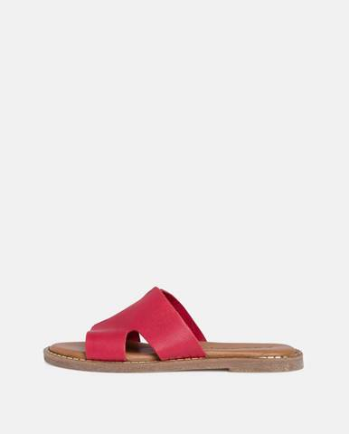 Červené papuče Tamaris